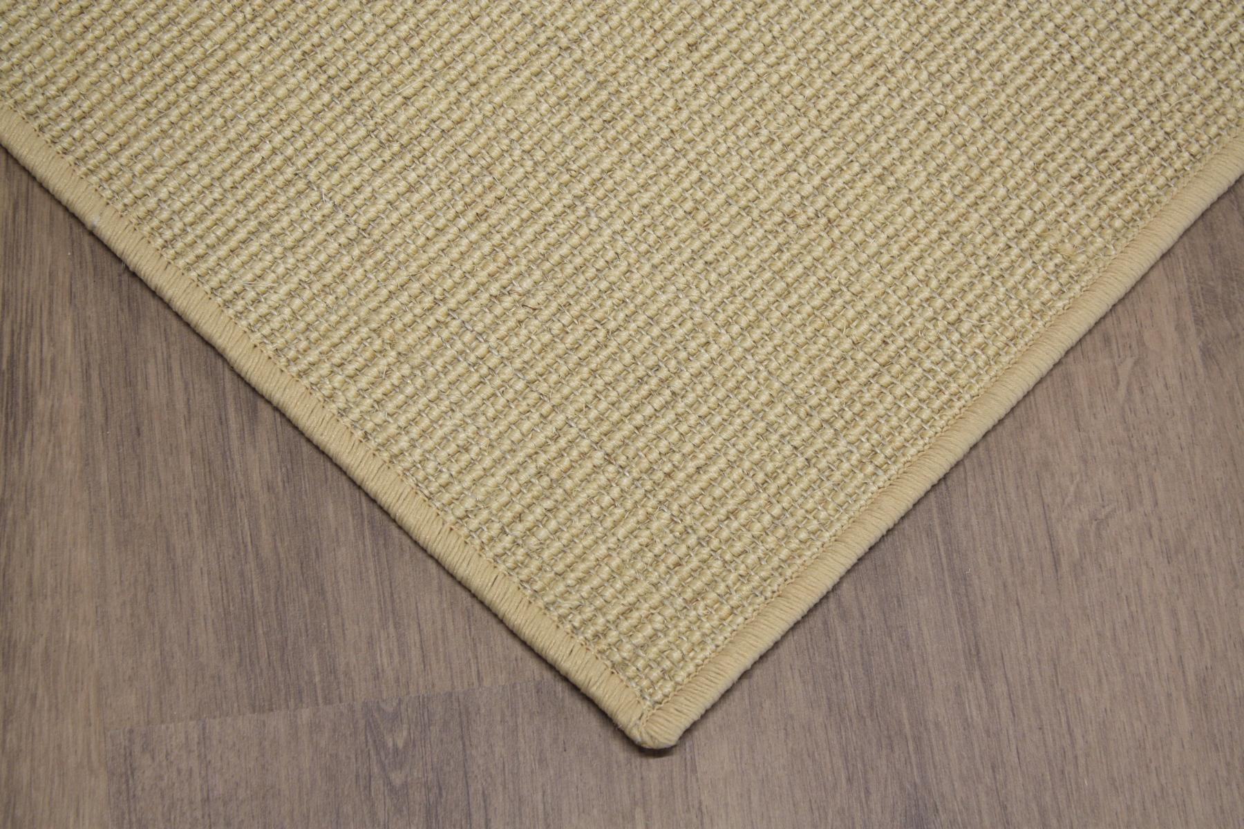 sisal teppich umkettelt reis 200x300cm 100 sisal gekettelt. Black Bedroom Furniture Sets. Home Design Ideas