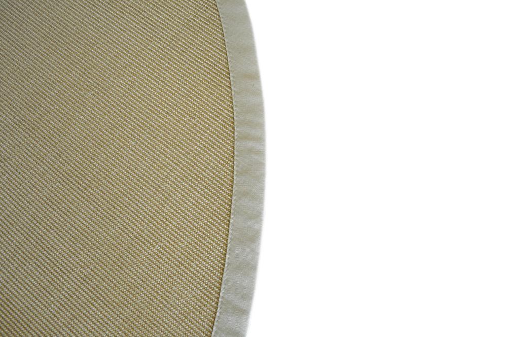 sisal teppich mit bord re natur 200cm rund 100 sisal. Black Bedroom Furniture Sets. Home Design Ideas
