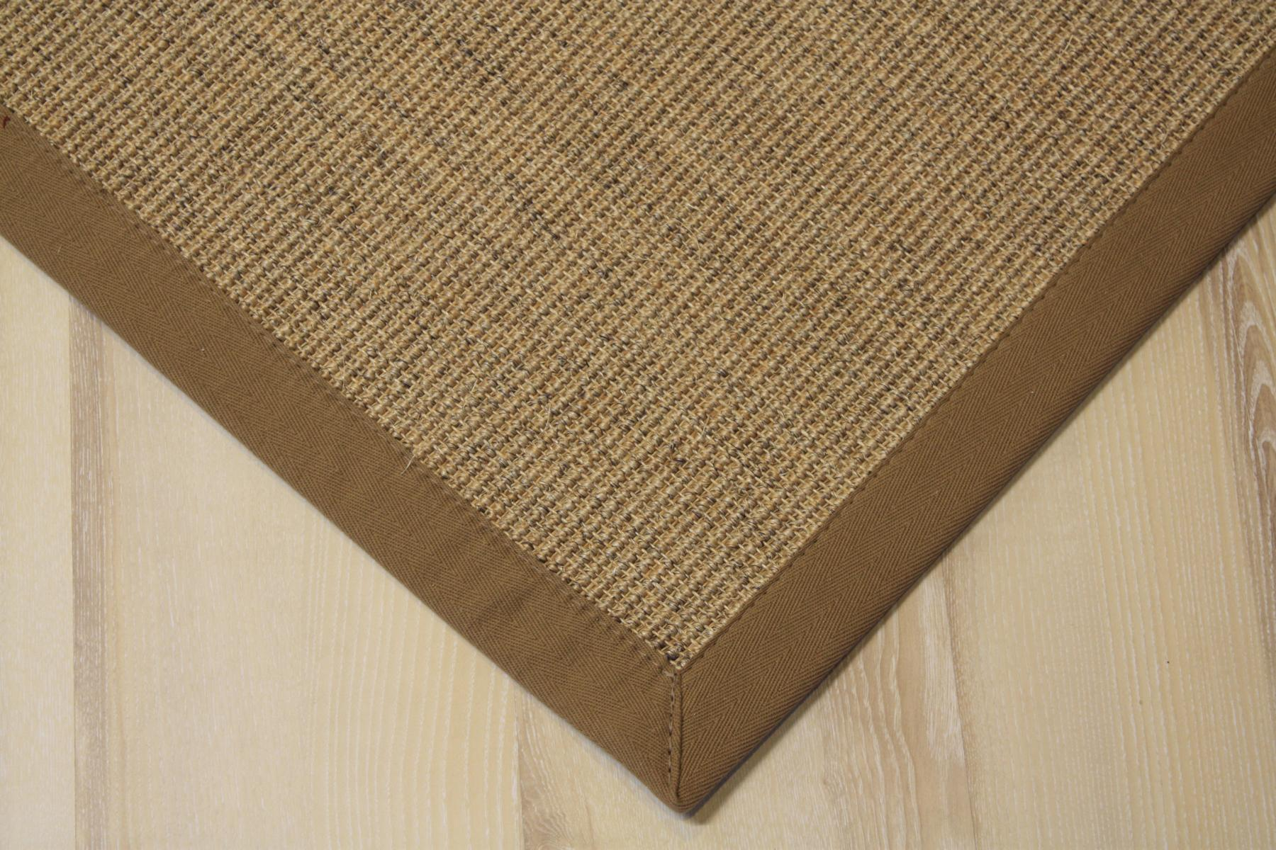 sisal tapis manaus avec bordure diapr 200 x 200 cm 100 sisal ebay. Black Bedroom Furniture Sets. Home Design Ideas