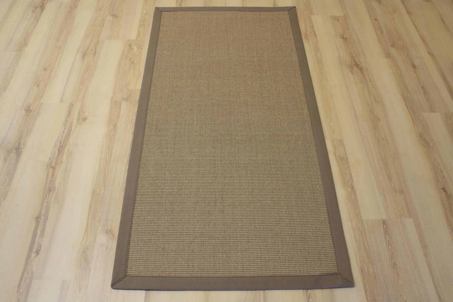 sisal tapis salvador avec bordure cr me pierre 250x350 cm 100 sisal ebay. Black Bedroom Furniture Sets. Home Design Ideas