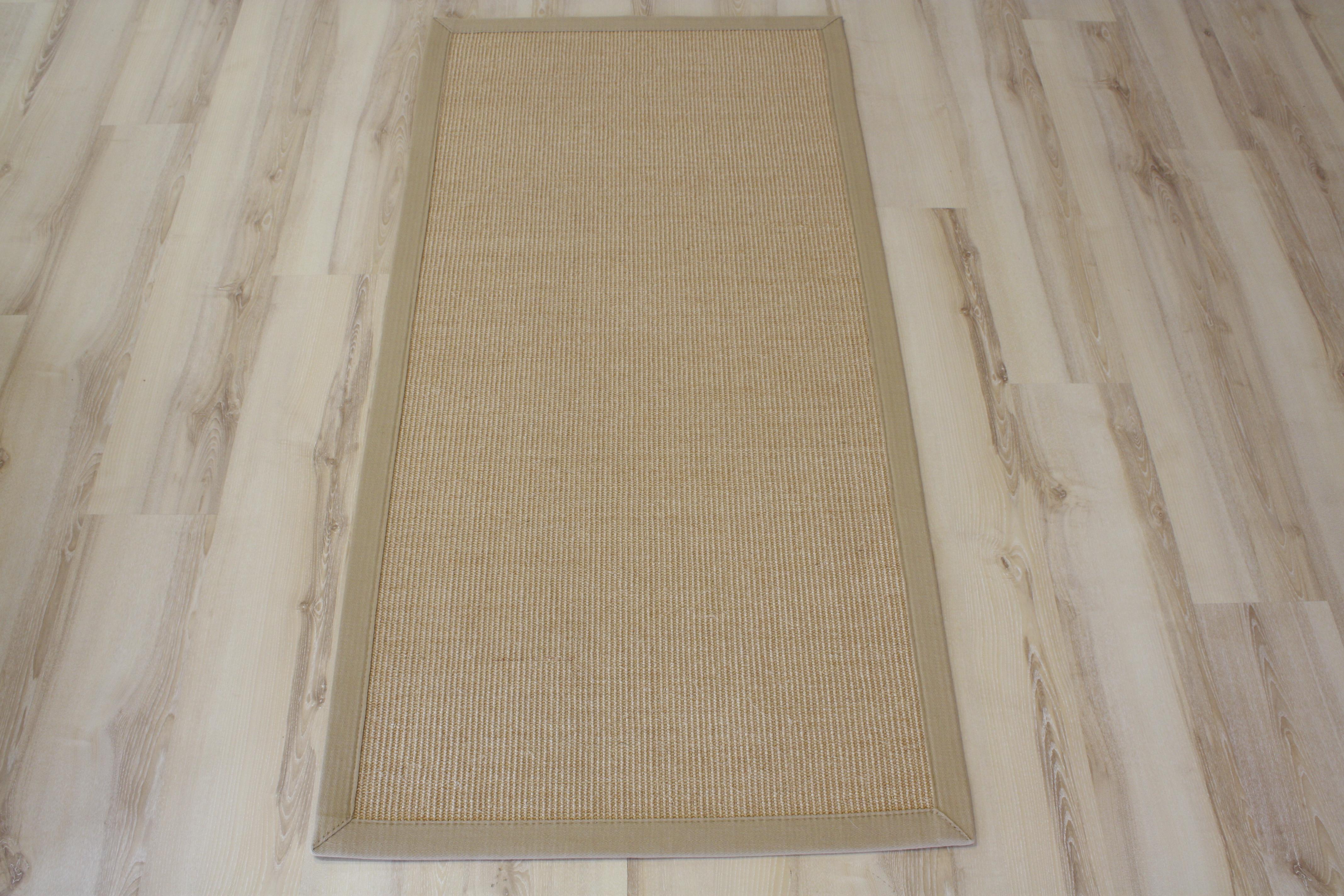 Sisal alfombra con bordura natural 250x350cm 100 sisal ebay - Alfombras de sisal ...