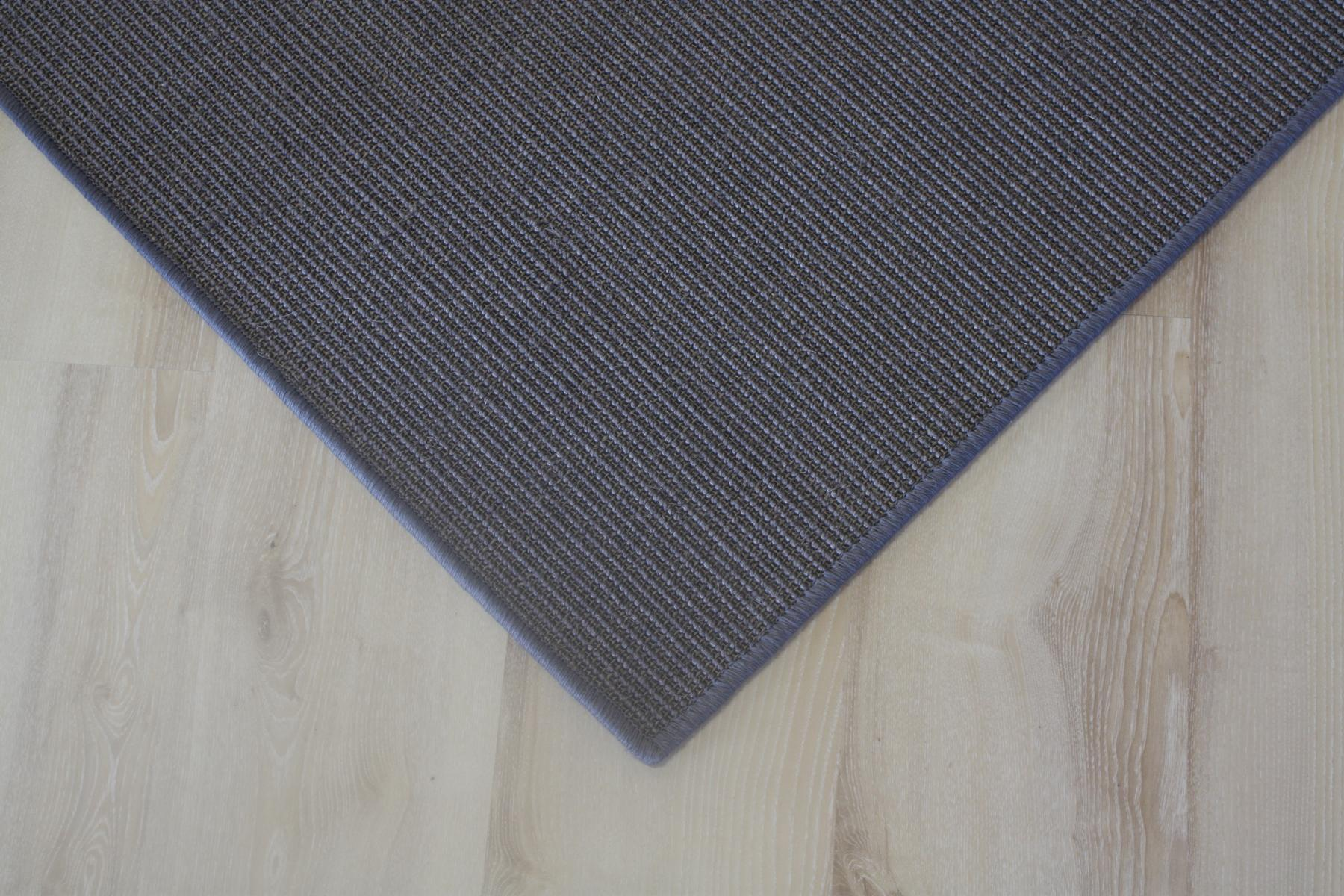 sisal tapis surfil gris 200x200cm 100 sisal graphite ebay. Black Bedroom Furniture Sets. Home Design Ideas