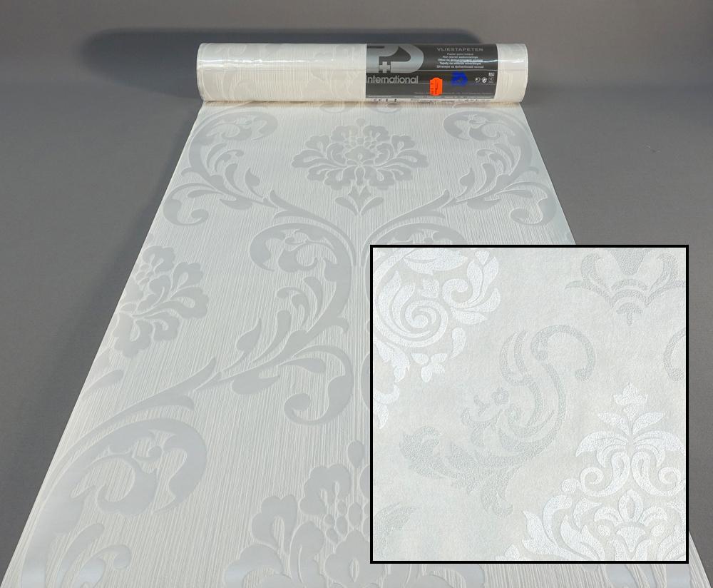 vliestapete 13110 10 p s tapete struktur ornament wei creme 1311010 ebay. Black Bedroom Furniture Sets. Home Design Ideas