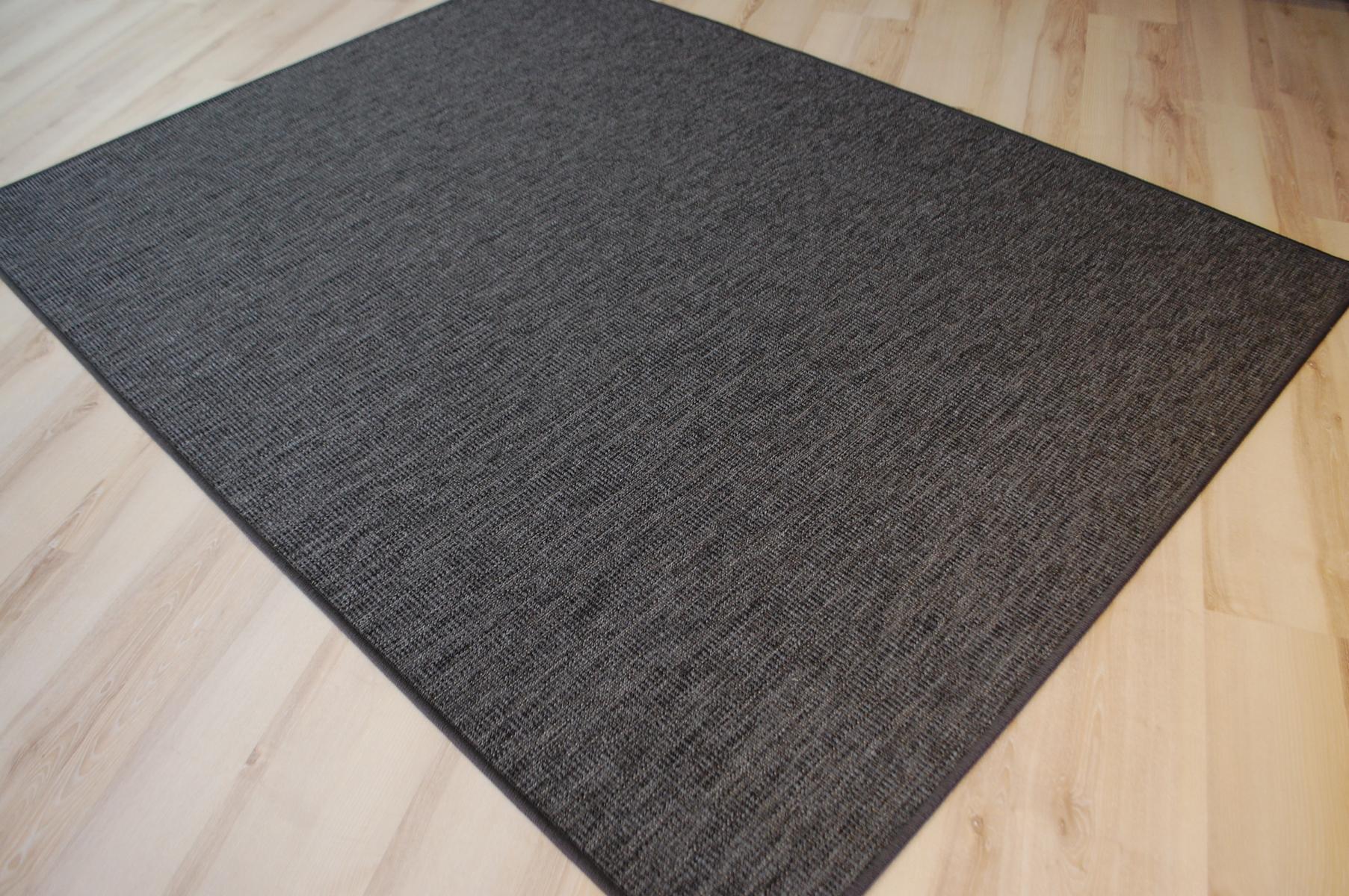 Outdoor Indoor Teppich Cornus Grau Wetterfest Terrasse Küche