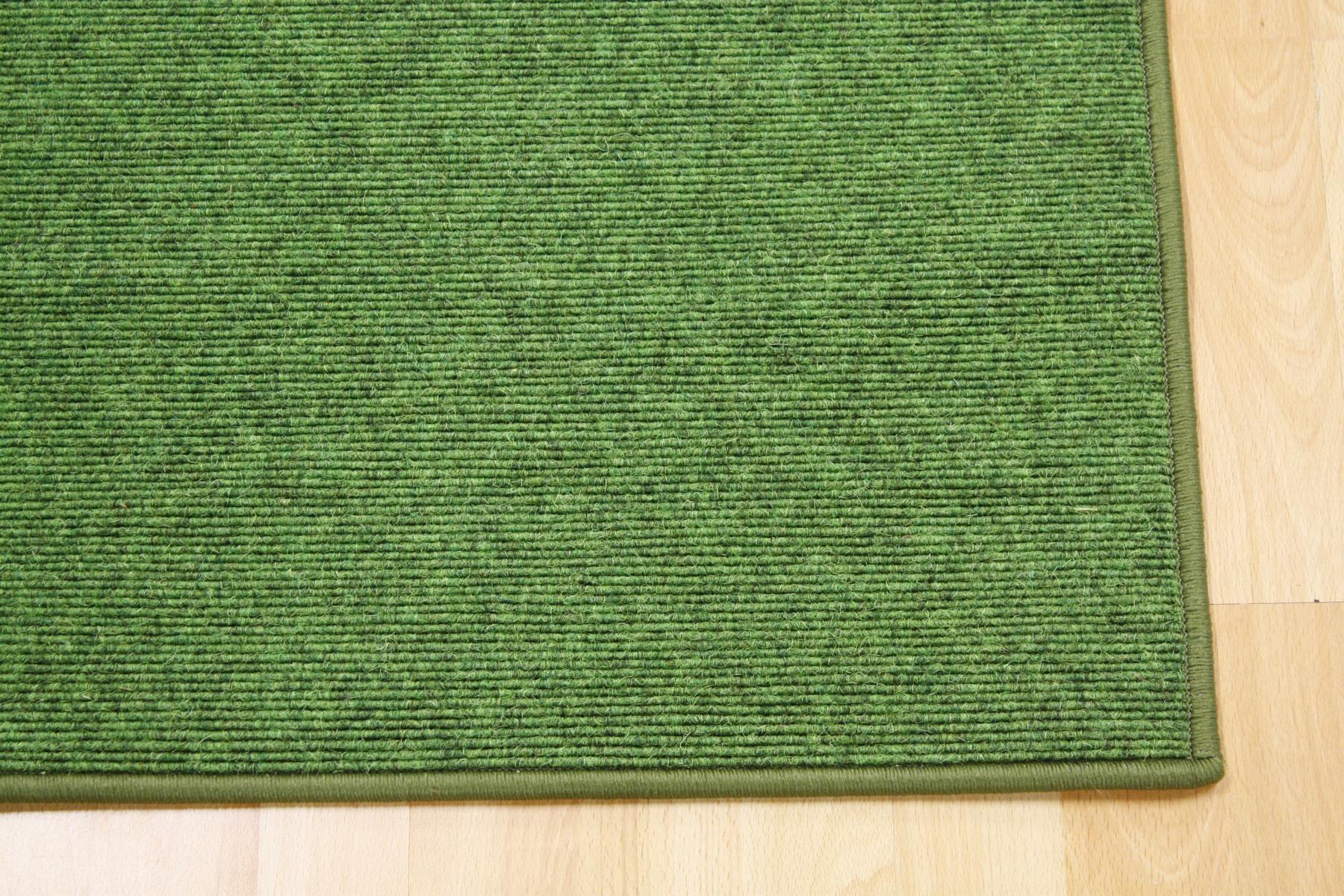 Teppich Tretford 569 umkettelt 100 x 200 cm Ziegenhaar