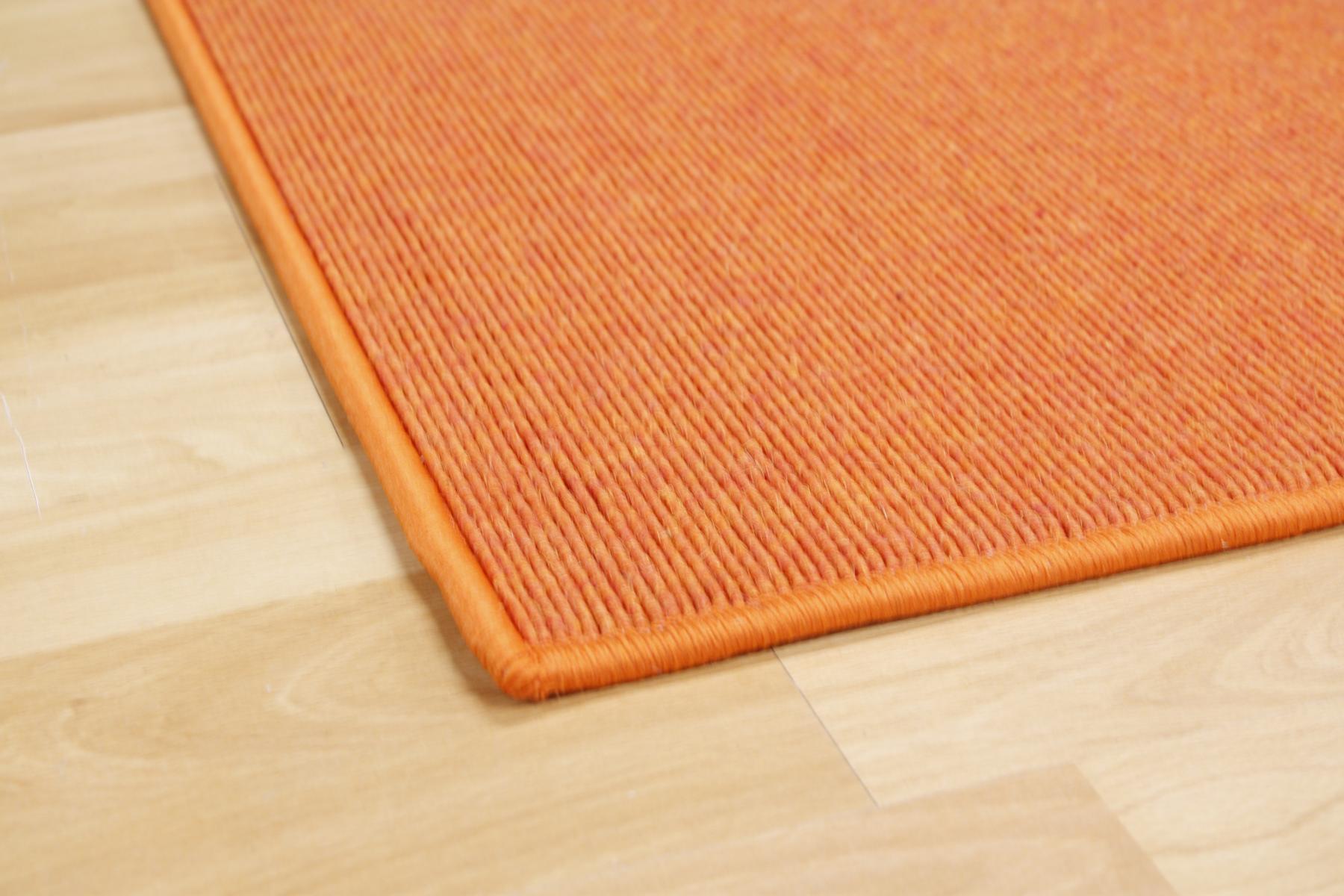Teppich Tretford 585 umkettelt 350 x 200 cm Ziegenhaar