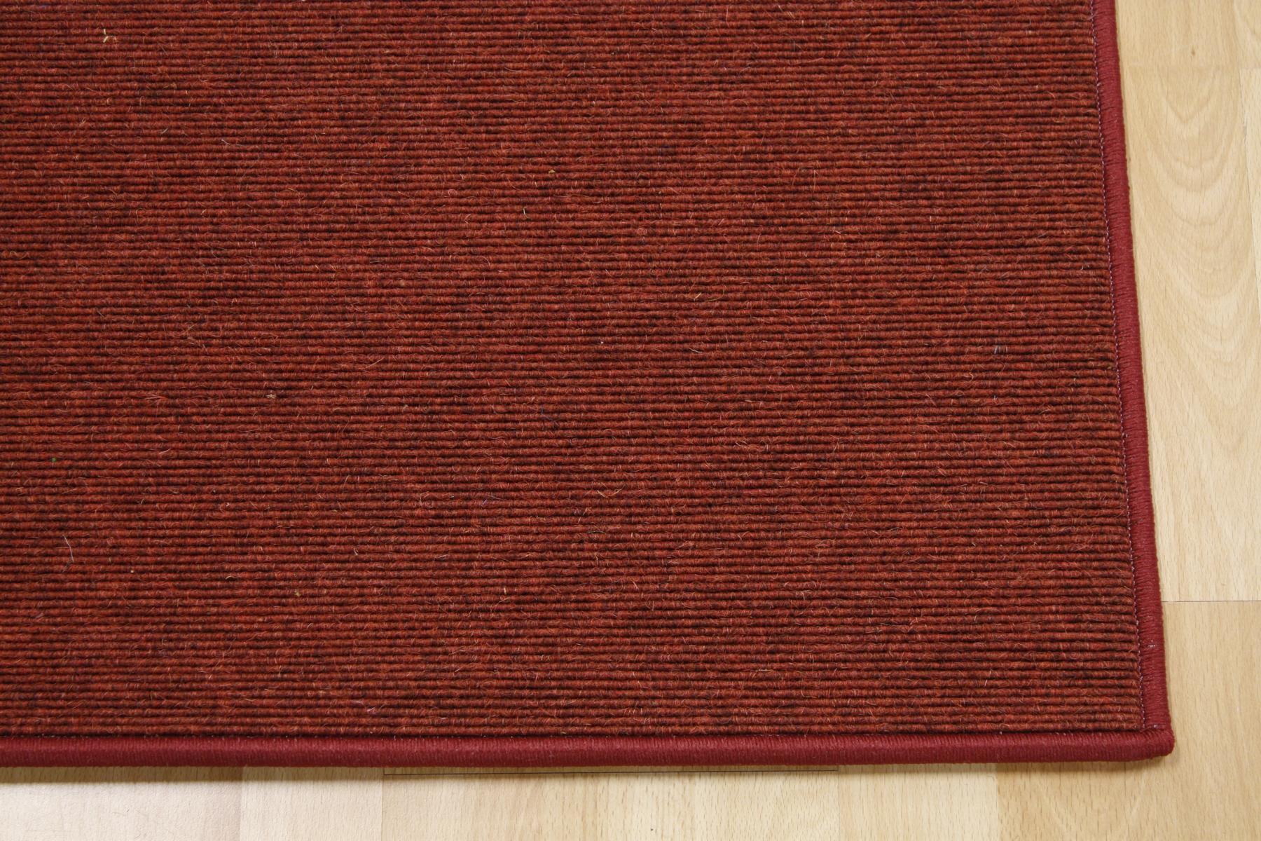 Teppich Tretford 633 umkettelt 100 x 200 cm Ziegenhaar