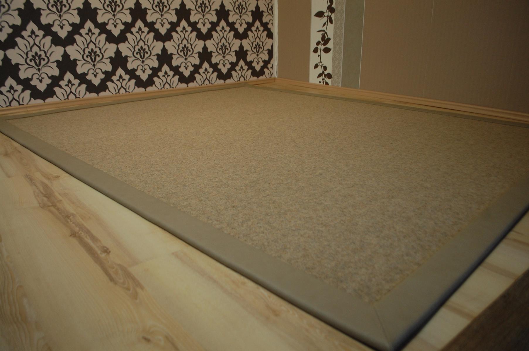 teppich tretford 555 kunstleder bord re 200x250 cm ebay. Black Bedroom Furniture Sets. Home Design Ideas