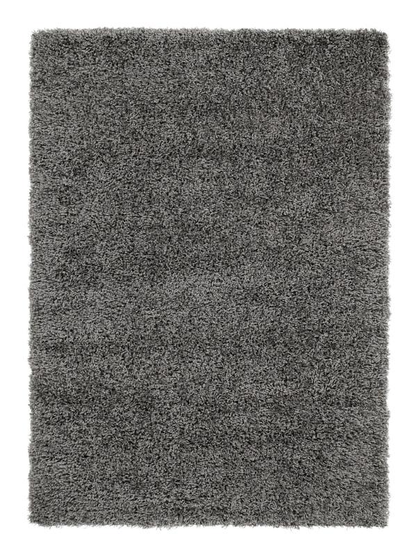 trend shaggy langflor teppich 640 grau 200x250 cm neu. Black Bedroom Furniture Sets. Home Design Ideas