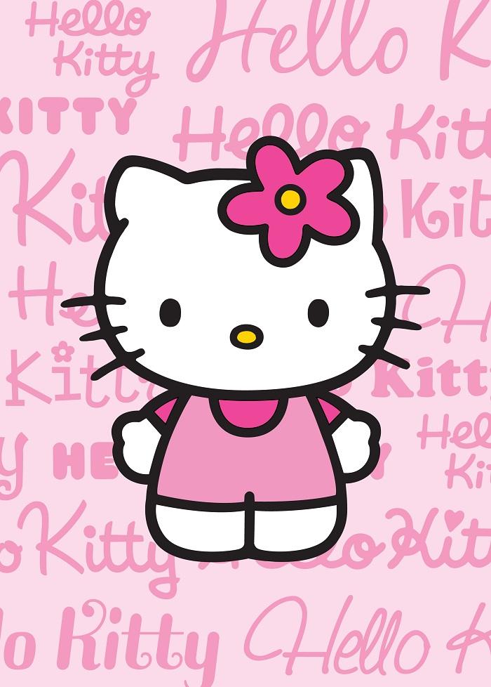 kitty teppich图片