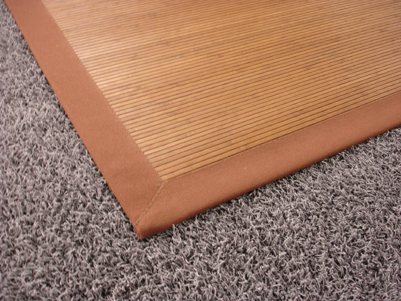Bamboo Rug 3mm Fine 70x133cm brown  eBay