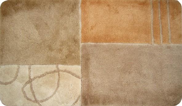 Badteppich Badserie Rhodos 80x150cm beige  eBay