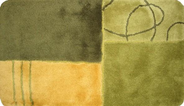 Tapis de bain tapis de bain Rhodos 60x100cm vert neuf  eBay