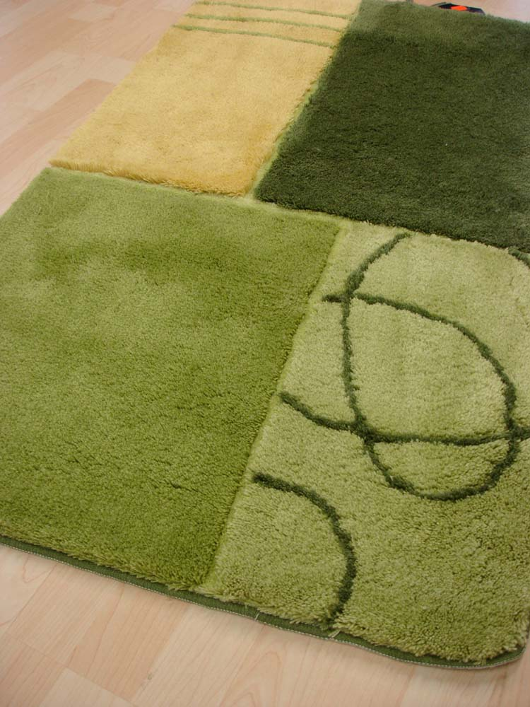 tapis de bain tapis de bain rhodos 55x65cm vert ebay. Black Bedroom Furniture Sets. Home Design Ideas
